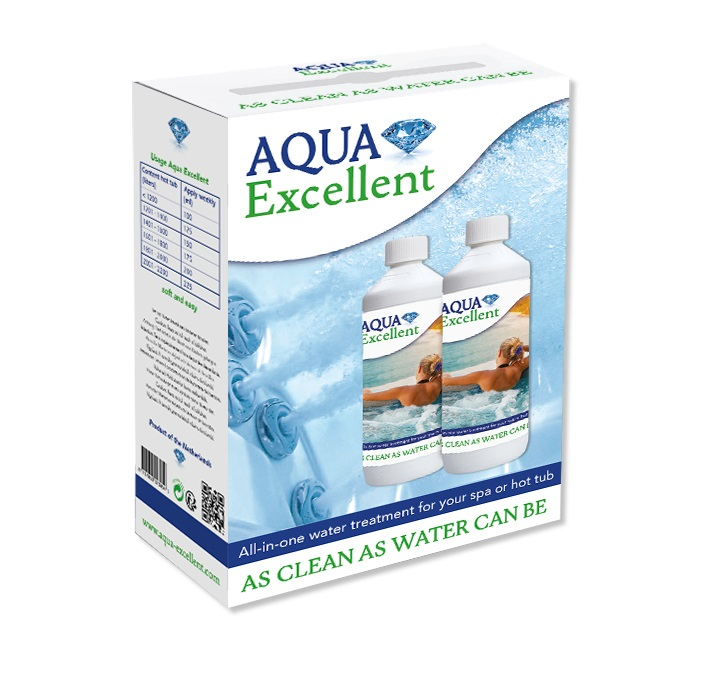 Aqua Excellent - All in one water treatment 2 x 1 l v balení